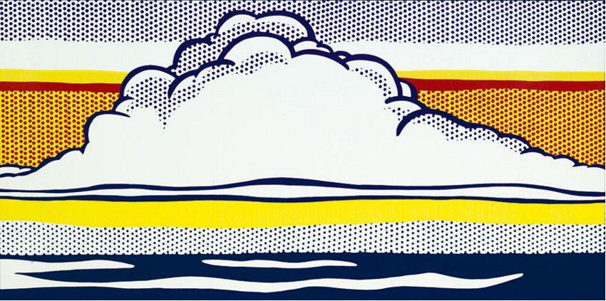 roy-lichtenstein-cloud-study-1964
